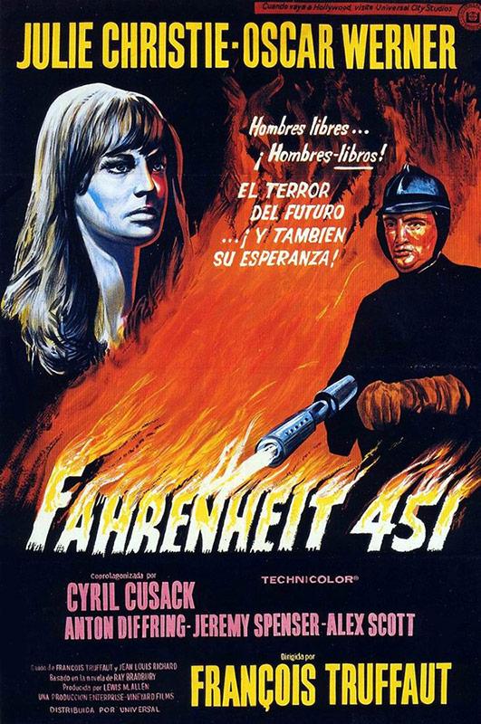 fahrenheit451 movie poster