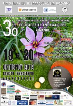 Πρωτάθλημα αντισφαίρισης αφίσα