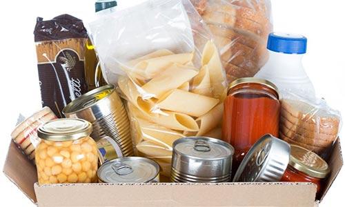 Δωρεά τροφίμων