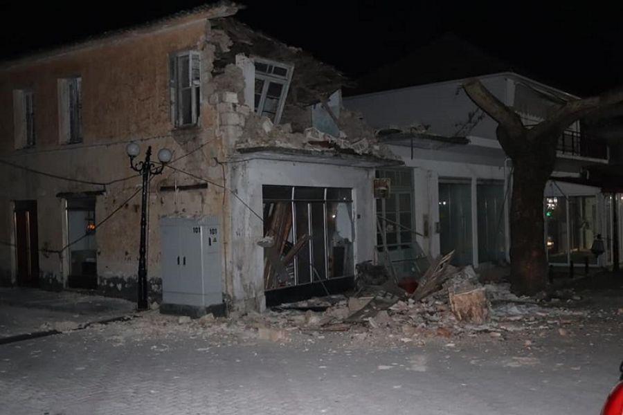 Πάργα σεισμός