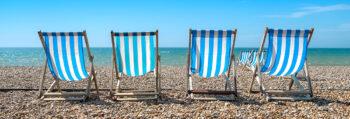 Καλοκαίρι παραλία καρέκλες